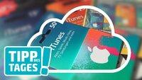 Tipp: iCloud-Speicher günstiger mit reduzierten iTunes-Karten