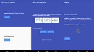 Inkwire: Neue App ermöglicht Screen-Sharing von Android zu Android