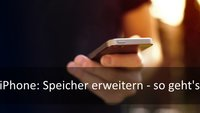 iPhone- & iPad-Speicher erweitern: Nachrüsten auf bis zu 128 GB