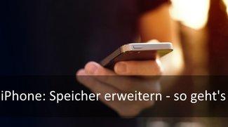 iPhone-Speicher erweitern: Nachrüsten auf bis zu 128 GB