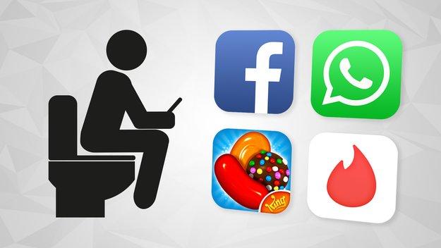 Diese Apps sind fürs Klo