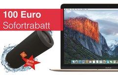Gutscheincode: Sofortrabatt plus Soundstation im Wert von 229 Euro beim Kauf eines MacBooks, iMacs oder Mac Pro