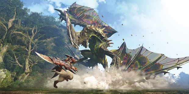 Monster Hunter World: Massig Gameplay aus dem uralten Wald