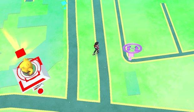 Pokémon Go: Anmelden einer Arena oder eines Pokéstops in deiner Nähe (Update)