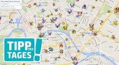 Poké Radar für Pokémon GO zeigt euch die Fundorte aller Taschenmonster