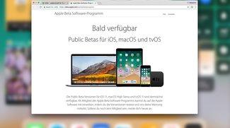 iOS 11 Public Beta verfügbar: Anmeldung für die Testversion, so gehts