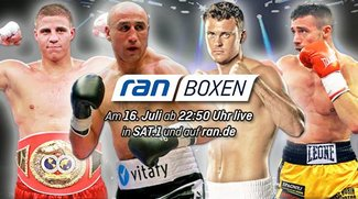 Boxen im Live-Stream und TV: Abraham vs. Lihaug & Zeuge vs. de Carolis