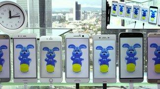 Akku-Test: Samsung Galaxy S7 lässt iPhone 6s, HTC 10 und Co. keine Chance