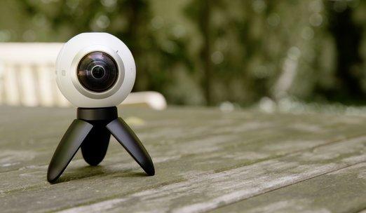 Samsung Gear 360 im Test: 360-Grad-Kamera mit Schwächen
