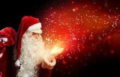 Wer hat den Weihnachtsmann...