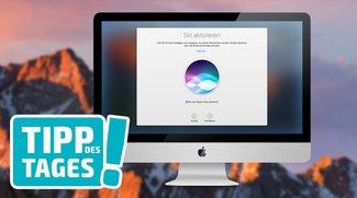 """Hey Siri"" am Mac mit macOS Sierra nutzen"