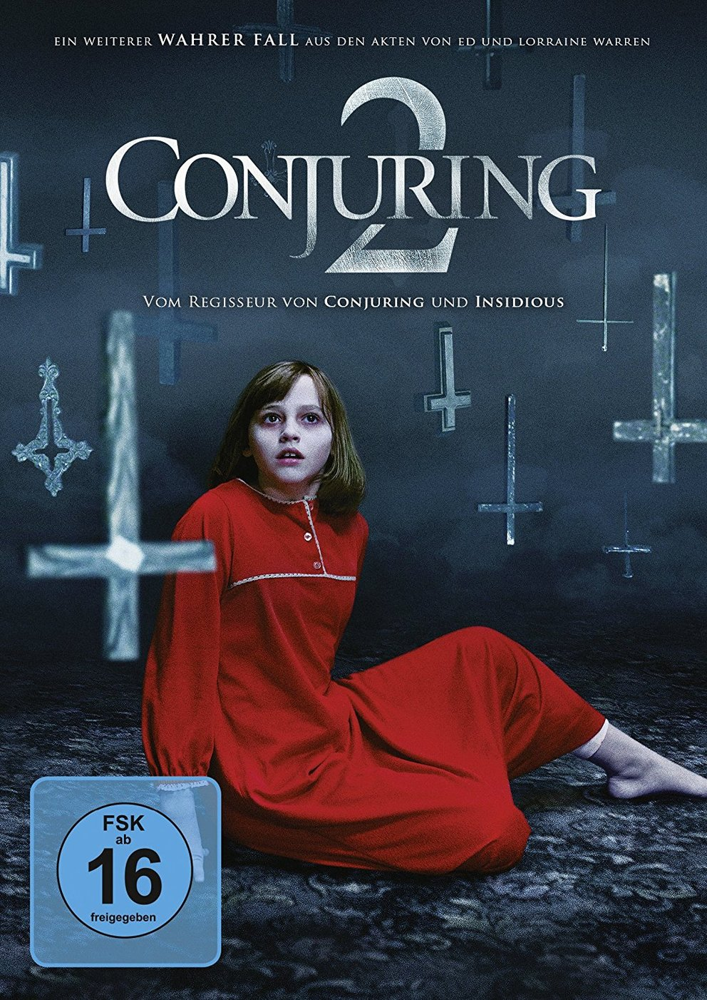 the conjuring 2 cover dvd
