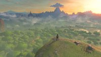 The Legend of Zelda - Breath of the Wild: Größe der Spielwelt und Karte