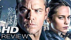 JASON BOURNE Kritik Review & Trailer Deutsch German (2016)