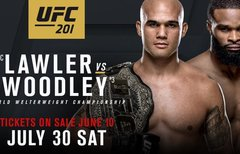 UFC 201 Lawler vs. Woodley: Im...