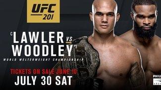 UFC 201 Lawler vs. Woodley: Im Live-Stream online in Deutschland sehen - so geht's