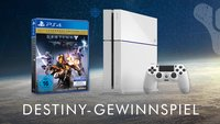 Gewinnt eine weiße PS4 mit Destiny, um für den kommenden DLC gewappnet zu sein!
