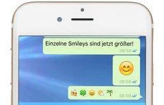 WhatsApp-Update: Ein erster,...