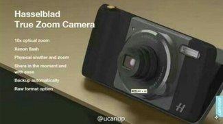 Moto Z: Neues Kamera-Modul von Hasselblad mit zehnfach optischem Zoom