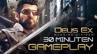 Deus Ex - Human Mankind: Der komplette Einstieg im Gameplay-Video