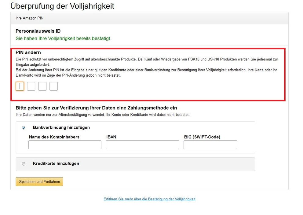 amazon prime video kaufen pin