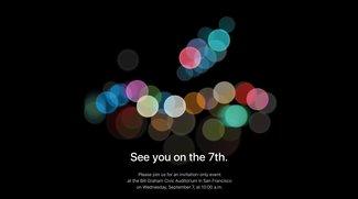 iPhone 7: Apple lädt zum Event am 7. September 2016