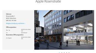 "Namensänderung: Apple Stores ab sofort ohne ""Store"""