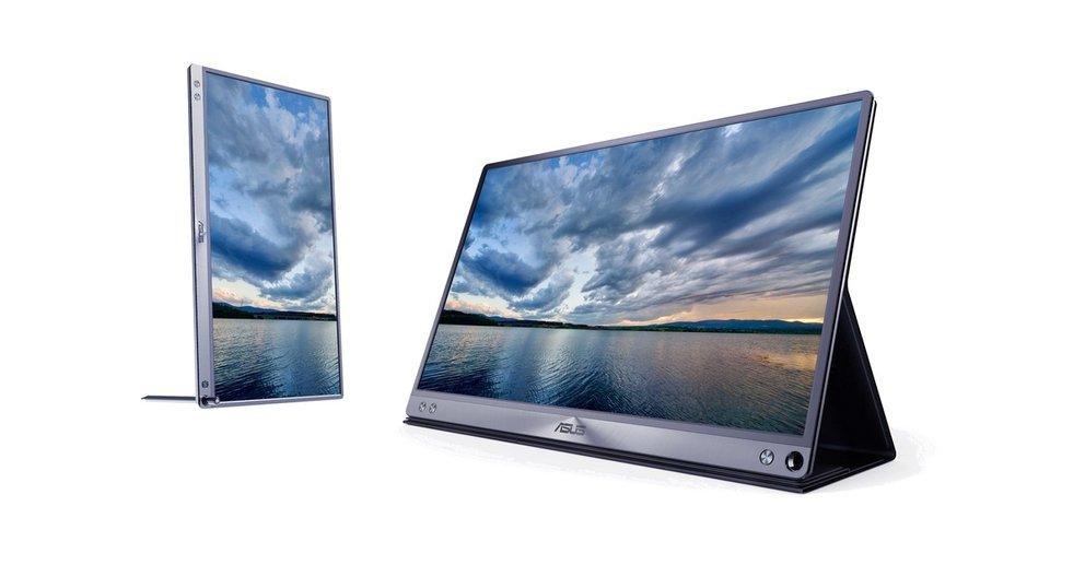 Asus ZenScreen: USB-Typ-C-Monitor für Tablets und Laptops