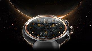 ZenWatch 3 vorgestellt: Asus' dritte Smartwatch begeistert mit rundem Display und edlem Design