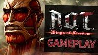 Attack on Titan: Die ersten 30 Minuten Gameplay von Wings of Freedom