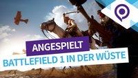 Battlefield 1 angespielt: So spielen sich die Pferde im neuen Shooter