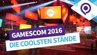 gamescom 2016 in Bildern: Wir zeigen euch die coolsten Stände der Messe