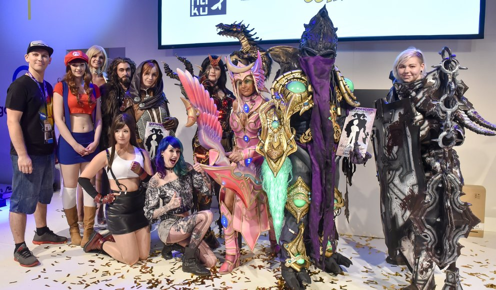 gamescom cosplay award 2015, social media stage, Halle 5.2