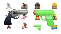 Warum das Pistolen-Emoji künftig für Riesen-Verwirrung sorgen wird