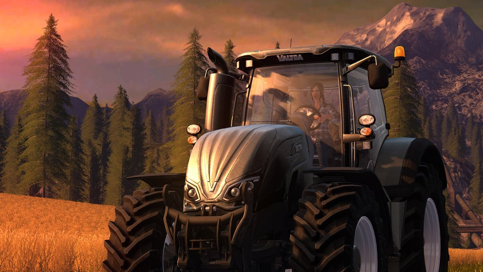 Im Landwirtschafts-Simulator 17 könnt ihr endlich auch als Frau auf dem Land arbeiten.