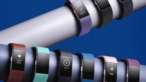 Fitbit stellt Fitnesstracker Charge 2 und Flex 2 vor