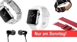 Sonntagsangebote: Edelstahl-Apple-Watch ab 479 Euro, Armbänder und mehr