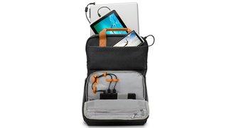 HP Powerup Backpack: Rucksack mit 22.400-mAh-Akku lädt Smartphones, Tablets und sogar Laptops