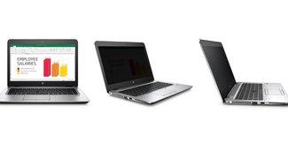 HP Sure View: EliteBooks mit Privatsphäre auf Knopfdruck