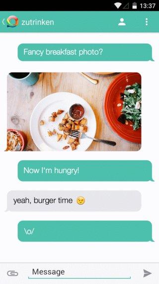 Hoccer Messenger App 03