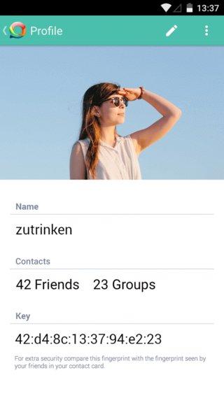 Hoccer Messenger App 04