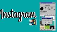 Retro-Fieber: So sieht Instagram für Windows 95 aus