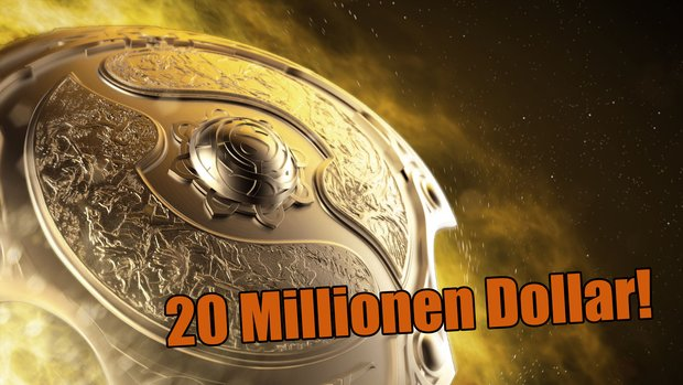DotA 2: The International startet mit einem Rekord-Preisgeld