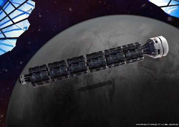 Mit dem Solar Express in 37 Stunden zum Mars