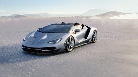 Centenario Roadster: Lamborghinis 770-PS-Cabrio