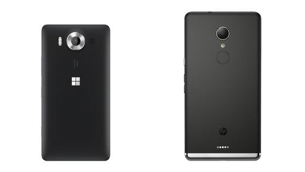 Kameravergleich: Microsoft Lumia 950 vs. HP Elite x3
