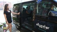 Taxifahrten mit Fremden teilen: Allygator Shuttle vermittelt Mitfahrgelegenheiten in Berlin