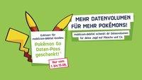 Pokémon GO: Mobilcom-Debitel verschenkt Datenvolumen an Spieler