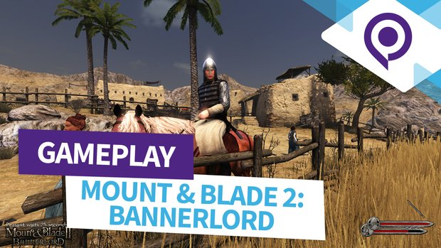 Mount & Blade 2 - Bannerlord: 3 Minuten pures Gameplay