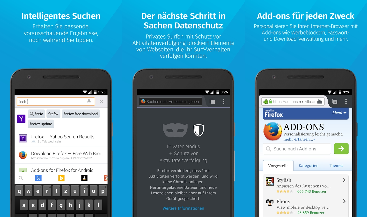 Die 11 besten Android-Browser in der Übersicht -